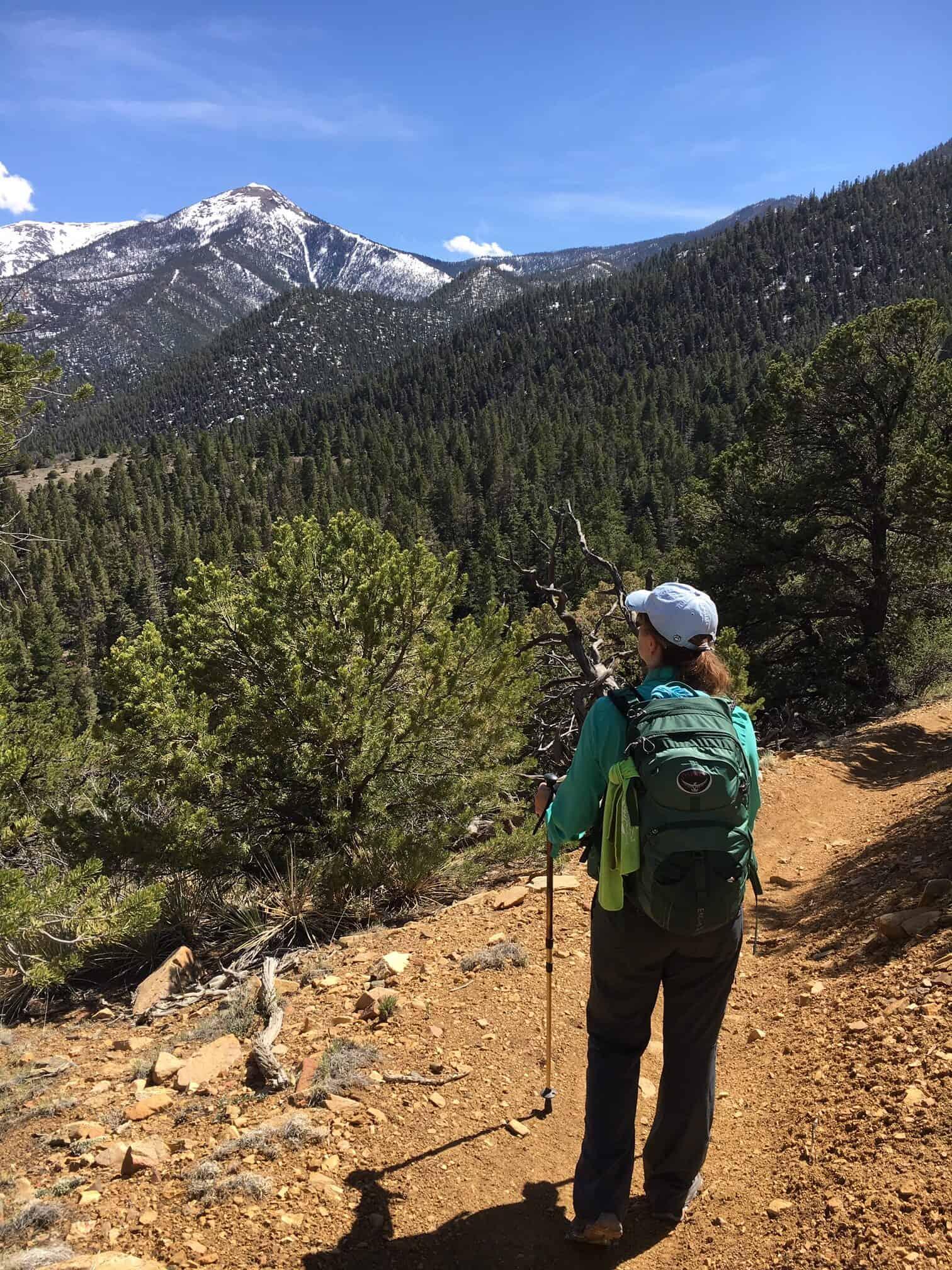 Hiking after injury